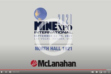 VIDEO: McLanahan at MINExpo 2021