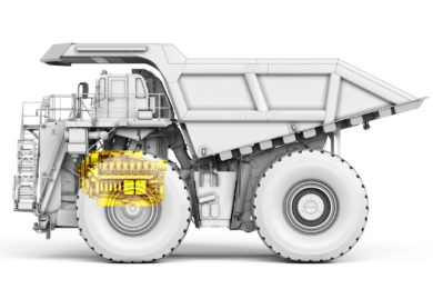 Liebherr T 274 truck first to incorporate its own D9816 engine