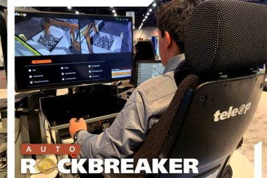 HARD-LINE introduces Auto Rockbreaker at MINExpo 2021
