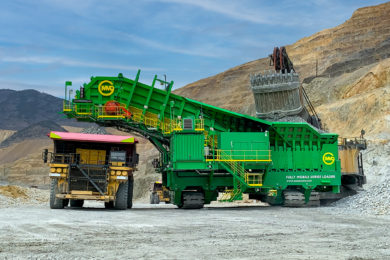 MMD's Fully Mobile Surge Loader ushering in a new era of optimised truck & shovel mining