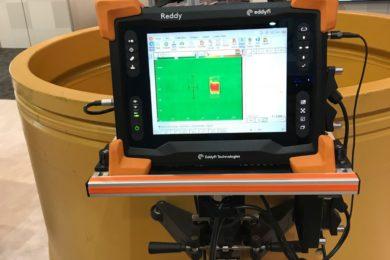 Kal Tire displays innovative mining wheel inspection tool at MINExpo 2021