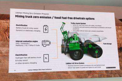 Liebherr advances Zero Emission Program with help of ABB, ENGIE
