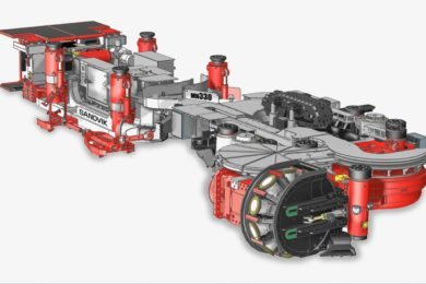 Sandvik MN330 narrow reef miner to help up productivity at Anglo American's Mototolo platinum mine