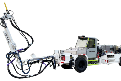 Getman's ProShot™ Concrete Spraying Vehicle & ProCharge™ MAXX™ Explosive Charger were in focus at MINExpo