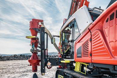 Sandvik adds RC sampling capability to Leopard™ DI650i drill rig