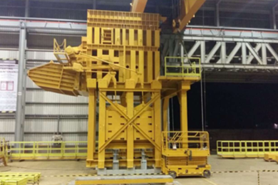 Austin Engineering to supply five underground mining chute structures from PT Freeport Indonesia's Grasberg