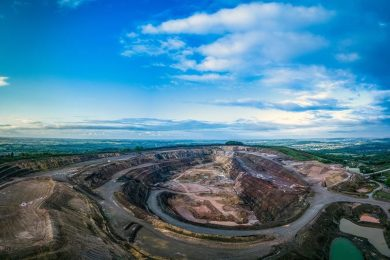 GRS teams up with Tungsten West to use mine waste as sustainable aggregate