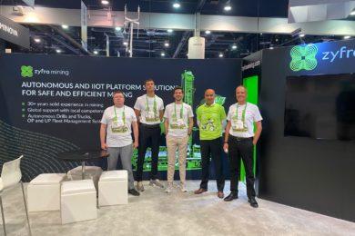 Zyfra presents new ZR RoboDrill autonomous drill rig solution at MINExpo 2021