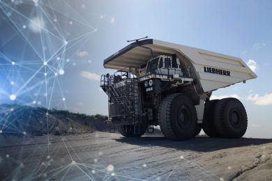 Liebherr open protocol autonomy solutions, Hexagon Mining pact come to light at MINExpo 2021