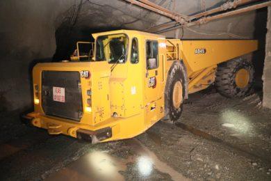 UMMC adds new Caterpillar AD45 truck fleet to help boost production at its Gaisky copper mine
