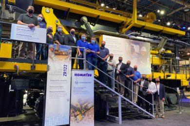 US Steel's Minntac iron ore operation first global customer of Komatsu Mining's new ZR122 blasthole drill