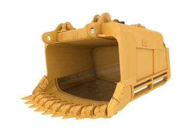 New Cat® dipper for Cat 7495 HF Electric Rope Shovels improves uptime & digging performance in oil sands duty