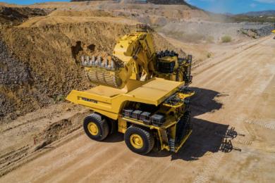 Komatsu's power agnostic and modular mining truck at MINExpo 2021