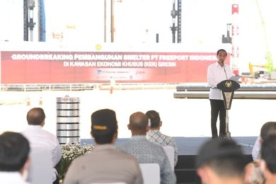 PT Freeport Indonesia officially launches new copper smelter & gold refinery project; plans 5G with Telekom at mine