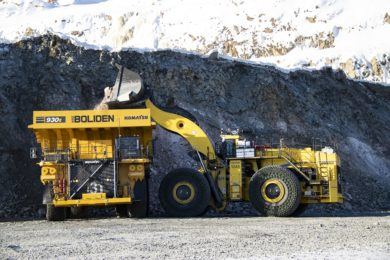 Boliden to become EU automation FrontRunner with help of Komatsu AHS