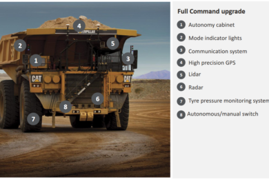 IAMGOLD outlines finalised autonomous Cat 793F CMD truck & Epiroc PV-231 drill fleet in latest Côté Gold project update