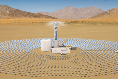 Woodside gives nod to Heliogen for 5 MW demo AI-enabled solar plant in California with mining industry potential