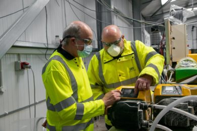 Grinding Solutions leveraging Watson-Marlow pumps for Cornish Lithium testing