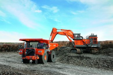 More Hitachi success in Russia as new shovels and trucks commissioned at Sibanthracite's Vostochny coal mine