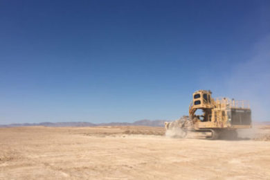Vermeer Terrain Leveler surface miner delivers results in Chile