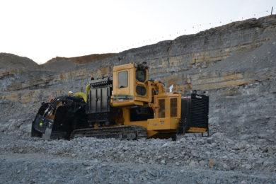 Vermeer Terrain Leveler surface miner helps jura cement reduce noise, vibration & dust at Wildegg quarry